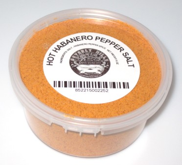 Habenero Pepper Salt, Hot Habanero Pepper, Habanero Salt, Hot Salt